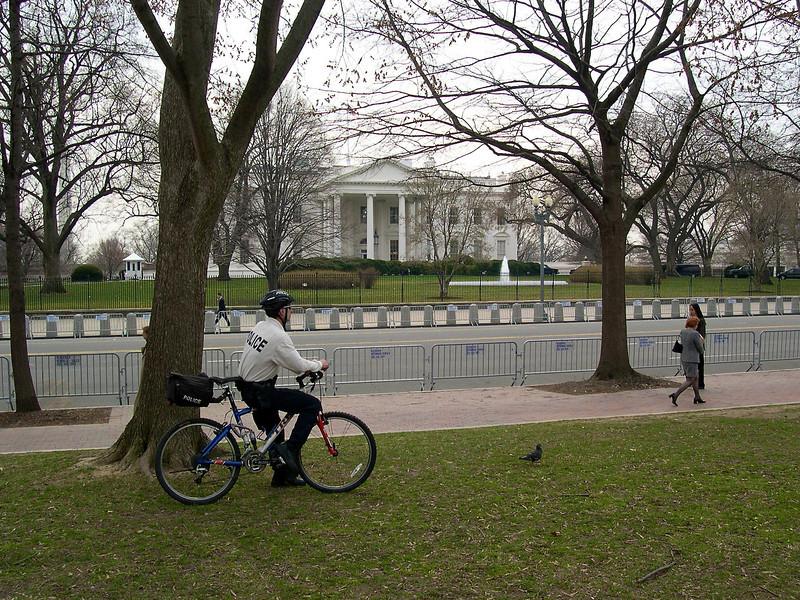Washington DC - March 2003 White House