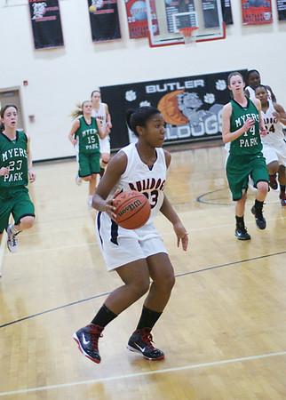 2009/12/10 BHS Girls Basketball - Butler VS Myers Park