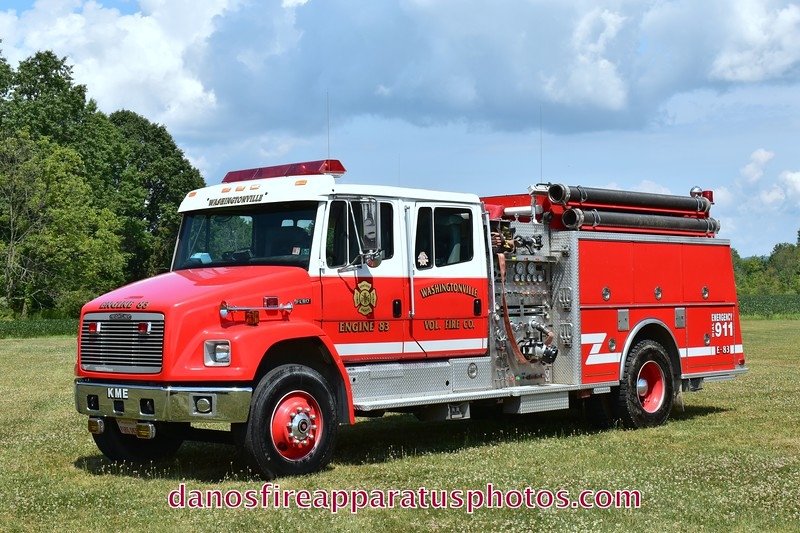 WASHINGTONVILLE FIRE CO.