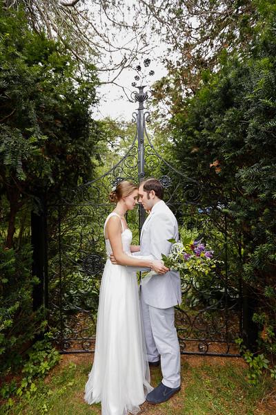 Michelle & Jimmy's Intimate Botanical  Garden Wedding