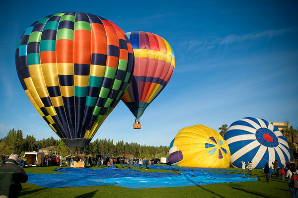 Balloons Over Bend 2010