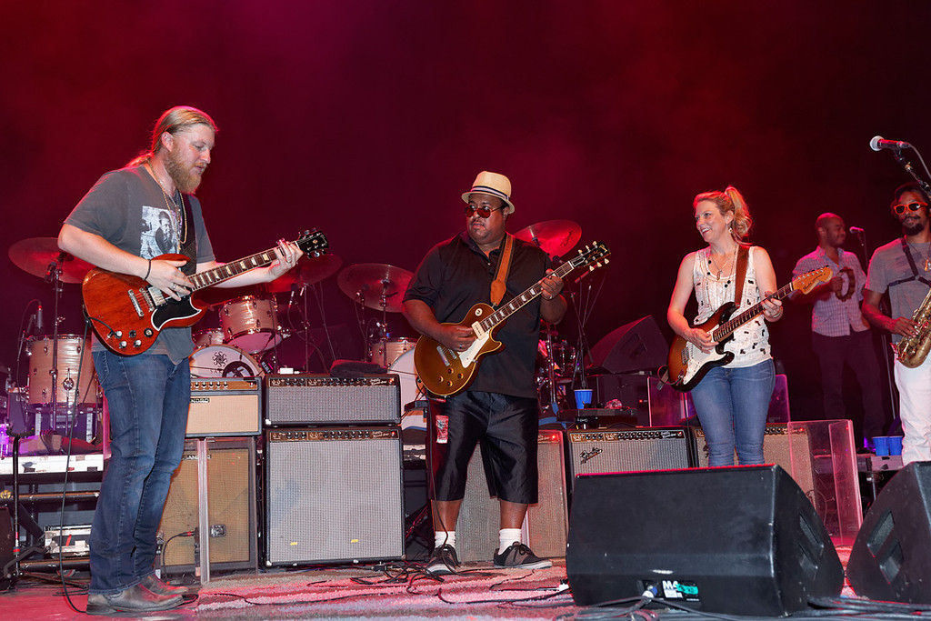 . Special guest Larry McCray performs with Tedeschi Trucks Band at Freedom Hill Amphitheatre on Tuesday, June 17. 