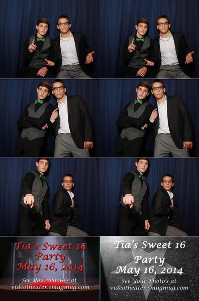2014-5-16 Tia's Sweet Sixteen