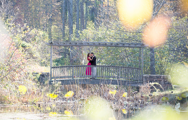 Sheryl and Dave - Engagement at Meadowlark Botanical