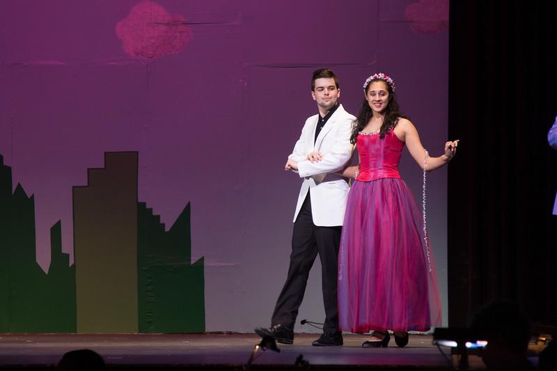 "Glinda -- ""The Wiz"", Montgomery Blair High School spring musical, March 26, 2017"