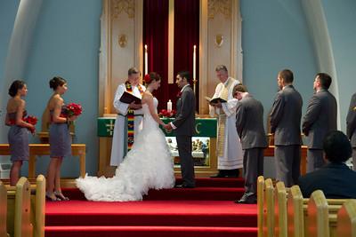 Sara & Joshua Wedding Service