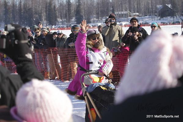 Iditarod Restart 2011