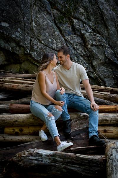 Stacy & Trevor Engagement  Whytecliff Park October 10, 2020