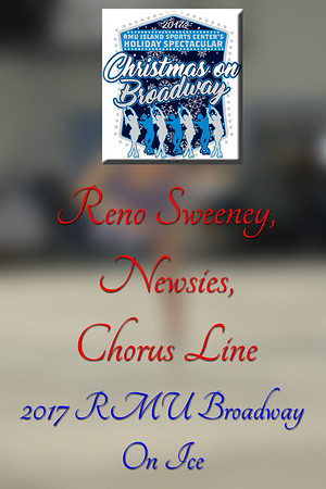 Reno,Newsies,Chorus Line
