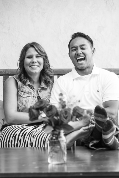 Bre and Dom Mini Engagement Session