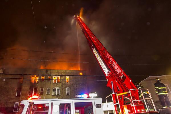 Paterson NJ 3rd alarm, 47 Carroll St. 08-01-21