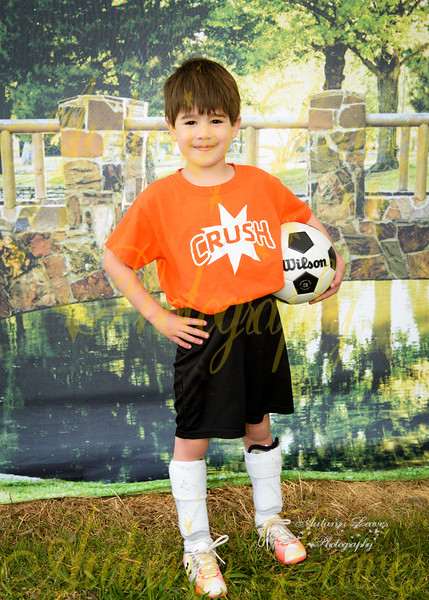 Pre K Orange Crush - TNYMCA Soccer Spring 2016