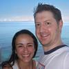 Maura and Ian at Waikiki Beach