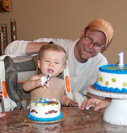 Caiden's 1st BDay 3-2014