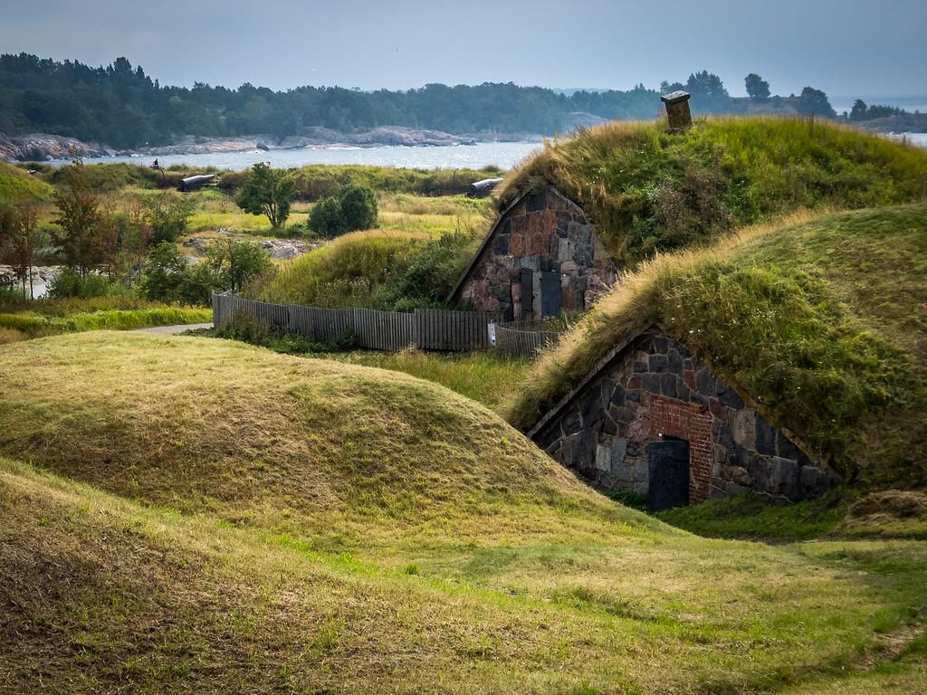 Fort Huts, Suomenlinna, Finland