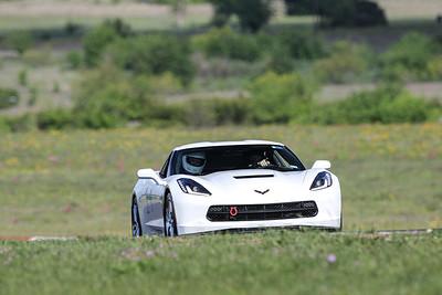 14 White C7 Corvette