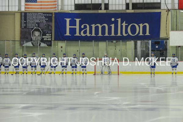 Hamilton Women's Hockey v SUNY-Oswego 11-24-15