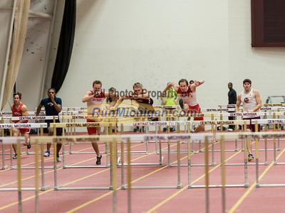 Hurdles - 2013 CMU Open Indoor Track Meet