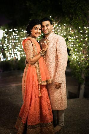 Vidhi (Wedding Ceremony) and Reception