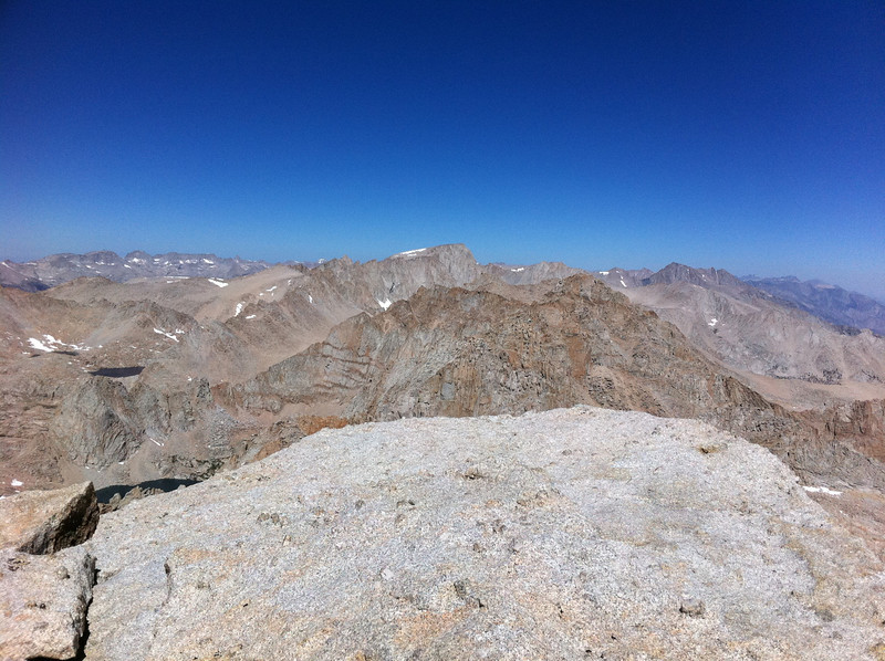Taken with my iPhone.  Mt. Langley summit view.