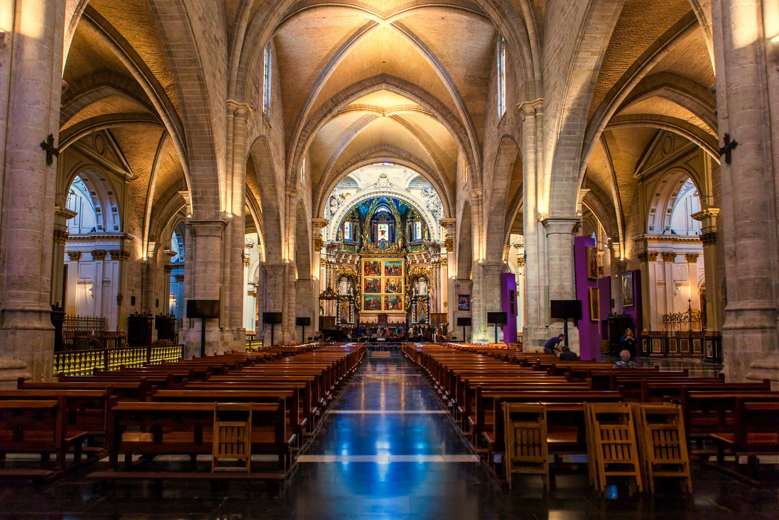 西班牙巴伦西亚主教堂,越看越喜欢