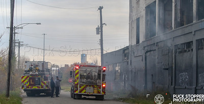 Commercial Box Alarm - Fisher Body Plant, 6000 Hastings Rd, Detroit, MI - 11/11/18