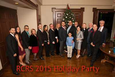 2015 RCRS Holiday Party