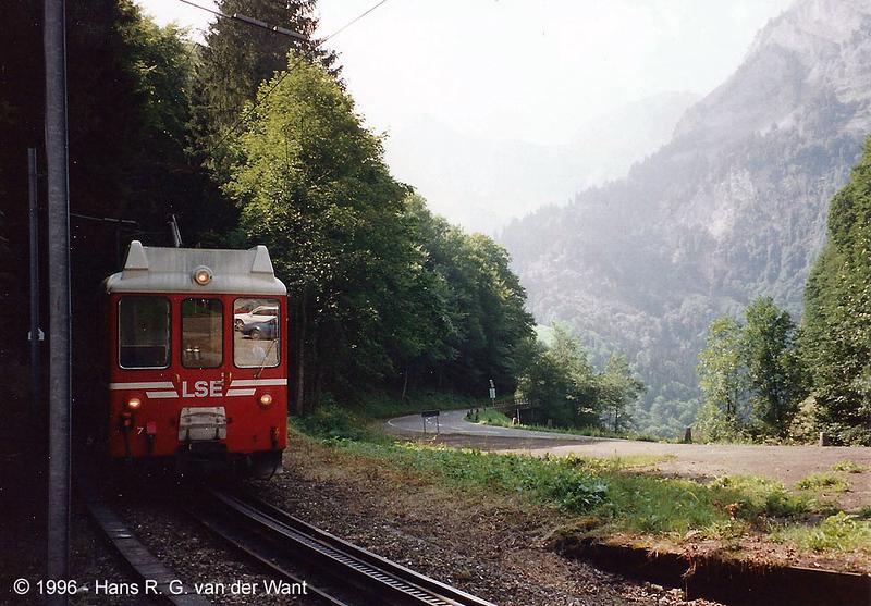 LSE - Stansstad to Engelberg - 19-08-1996