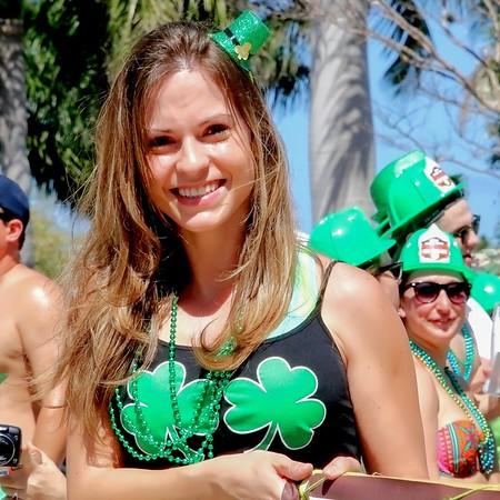 2015 • St. Patrick's Day event, Delray Beach Atlantic Avenue - 47th Annual event, March 14, 2015 2pm