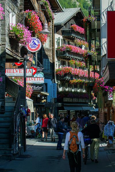 """Town of Zermatt"", Switzerland"