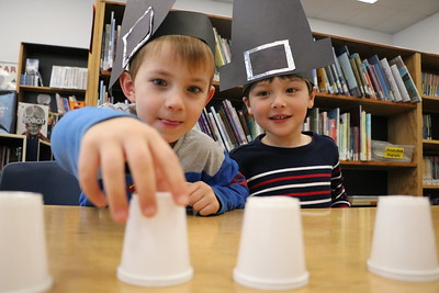 LS Kindergarten Pilgrim Games 11-19-18