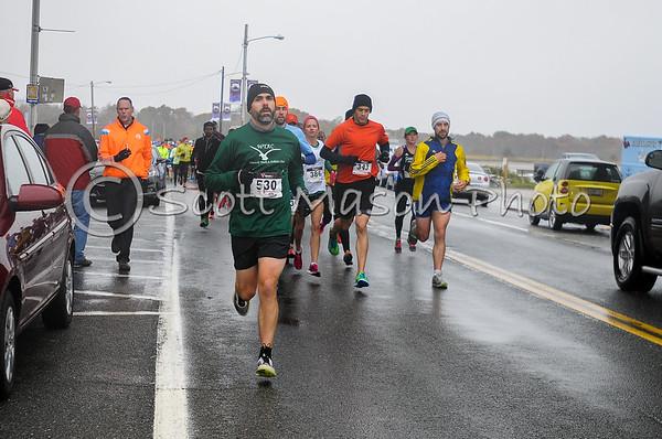 Gansett Half Marathon - Random Early Miles Shots