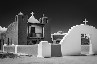 Taos Pueblo and O'Keefe Church