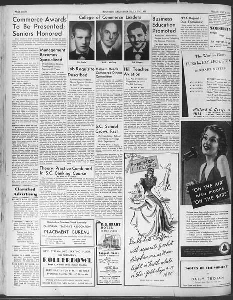 Daily Trojan, Vol. 30, No. 130, May 05, 1939