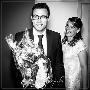 Huwelijk Matthew & Jana