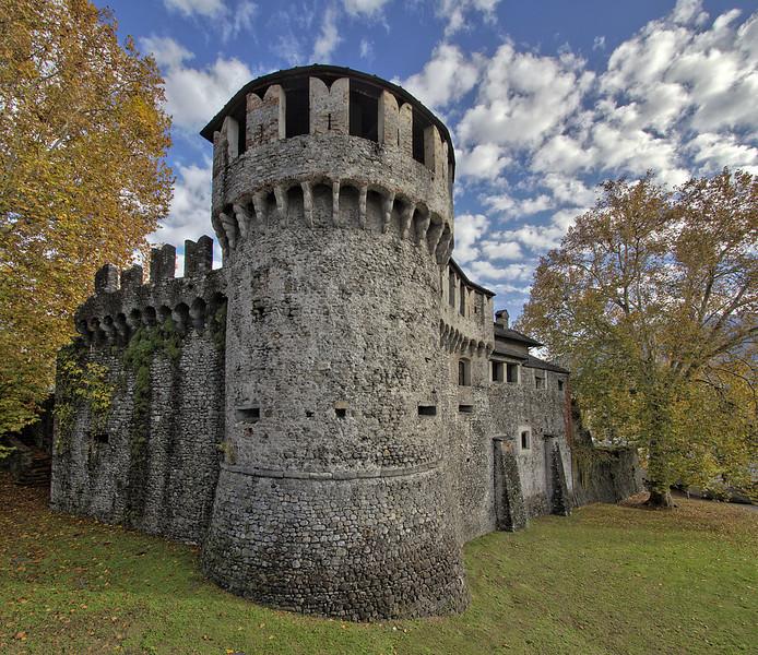 Visconti Castle. Source: Wikipedia