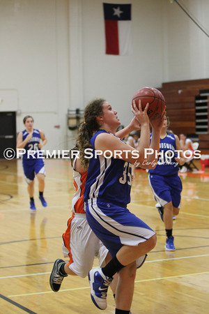 La Porte Girls JV Basketball vs Friendswood 11/14/2011