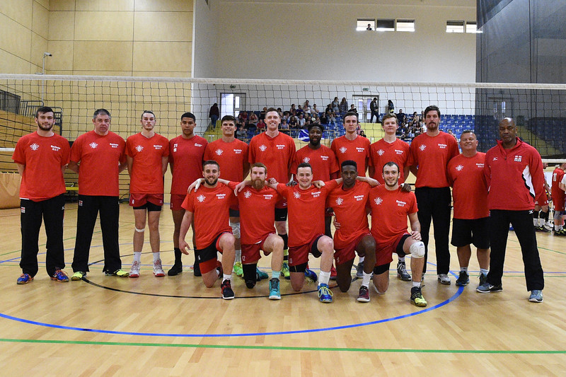 International Volleyball England 3 v 0 Scotland (20, 22, 17), Sport Central, Northumbria University, 27 May 2017.   © Lynne Marshall   http://www.volleyballphotos.co.uk/2017/Misc/20170527-England-v-Scotland-Men/