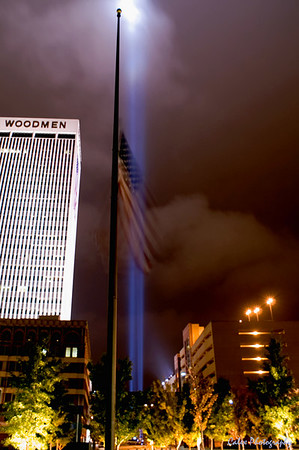 9-11 Twin Beams at the Woodmen Building in Omaha