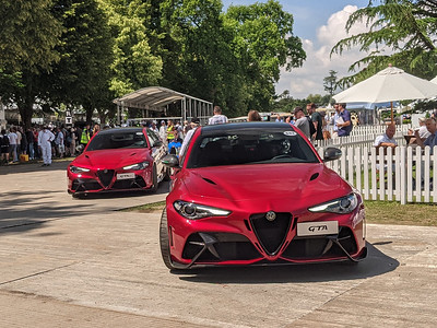 Goodwood Festival of Speed 2021 - First Glance Paddock