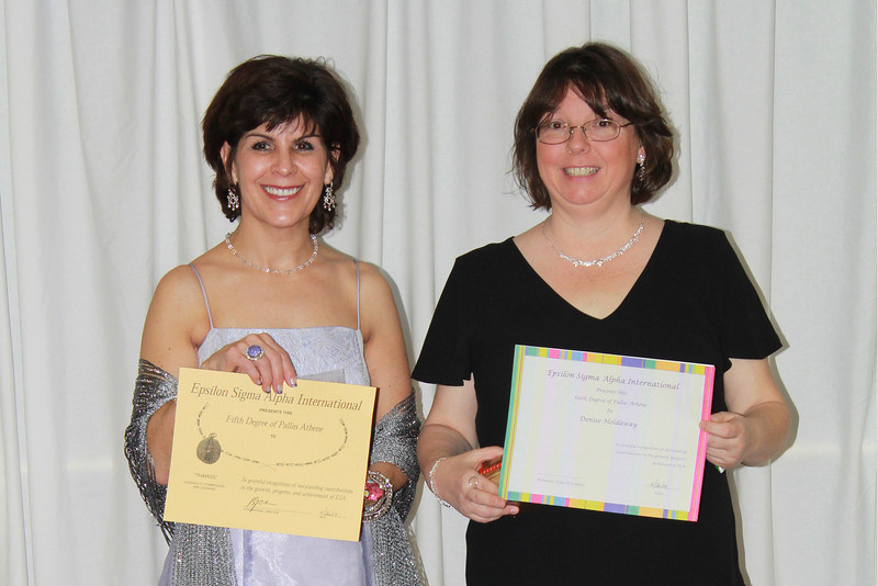 Kathy Riggs and Denise Holdaway