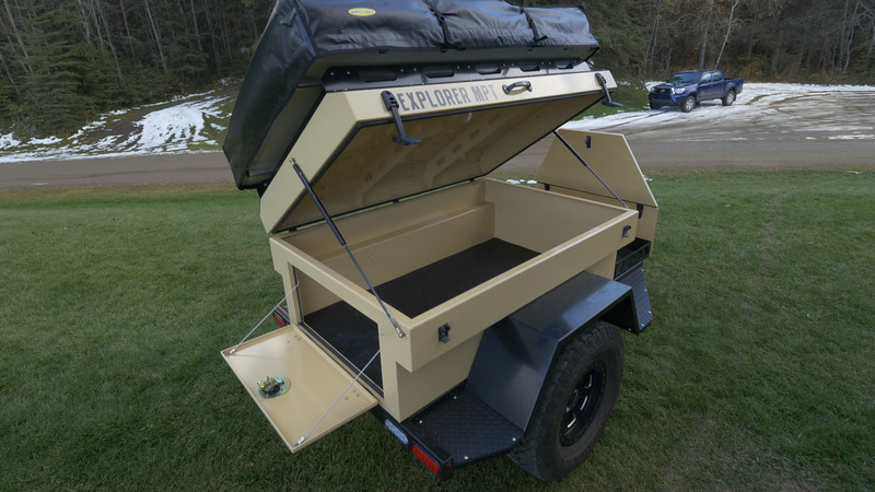 FOR SALE: Overland Explorer Aluminum Trailer With RTT | Expedition