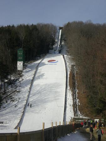 Harris Hill 90M Ski Jump: Brattleboro, Vt  (February 13 & 14, 2010)