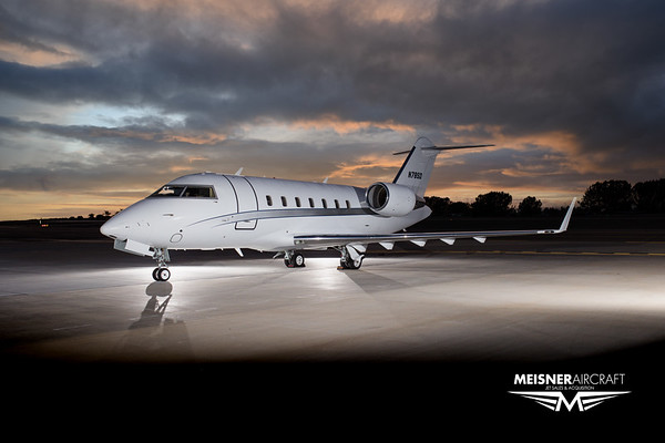Challenger 605 N78SD (High Res w/Logo)