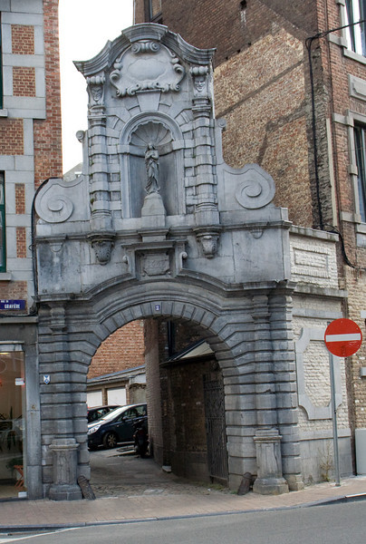 Namur, Belgium. One of the old city gates from when this was a fortified, walled city.