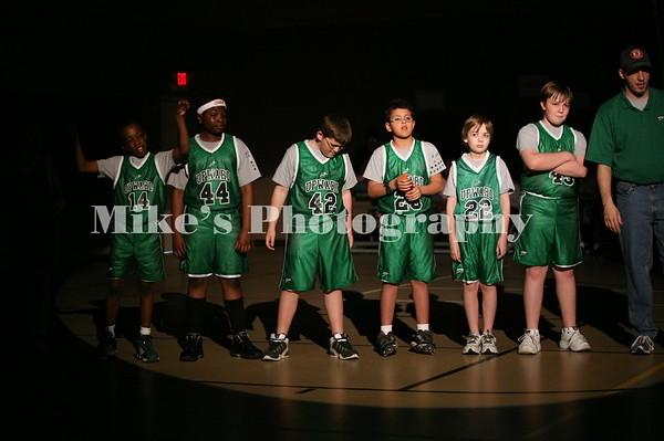 Upward Bound Basket Ball Week 8
