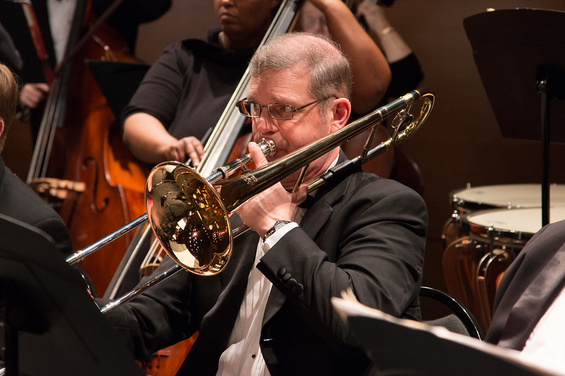 Fred Gleason -- Symphony of the Potomac at the Cultural Arts Center, Silver Spring, MD, February 2018.