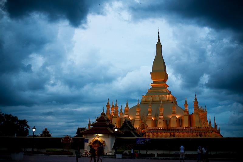 Pha That Luang, Vientiane, Laos I