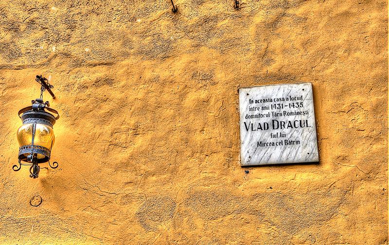 Dracula Lived Here