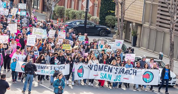 Jan 18 San Jose Women's March